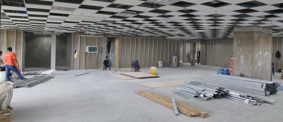 Construction-of-the-largest-space-in-the-new-serviced-office